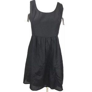 Vineyard Vines Dress Size 8 Jet Black Sleeveless